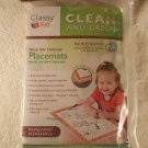 Kids Table Place mats  Disposable Waterproof  w/Markers Crayons Etc #DS276