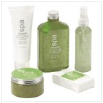 Cucumber Organic Spa Gift Set