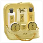 Pineapple Travel Bath Set