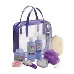 Wild Berry Bath Set In Purple Tote