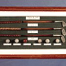 WOOD ALAB GOLF SHADOW BOX