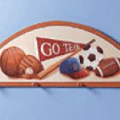 SPORTS CLOTHES HANGER WOOD PLQ