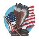 ALAB. EAGLE WITH FLAG PLATE