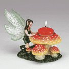 FAIRY MUSHROOM T-LIGHT HOLDER
