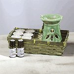 FROG BURNER WITH AROMATHERAPY OIL