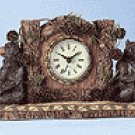 ALAB. BEARS CONES CLOCK