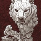 ALAB WHITE TIGER W TIGER HEAD