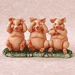 ALAB HEAR, SEE, SPEAK PIGS