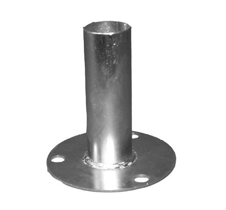 "Canopy Foot Pad Tent Shade Fittings For 1-3/8"" Pipe Galvanized Steel"