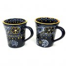 1 Pair Flare Cup Set Handmade Tea Mugs