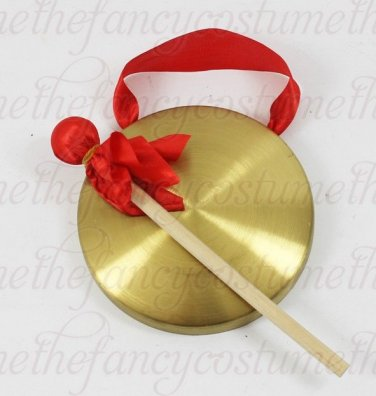 18cm gong Cymbals Percussion Chinese chlidren adult play game lion dragon dance
