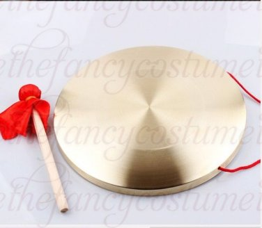 25cm gong Cymbals Percussion Chinese chlidren adult play game lion dragon dance