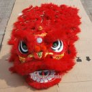 F/S CHILDREN RED Southern Lion Dance mascot Costume pure wool  Festival christams