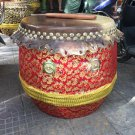 40cm diameter  new Southern Lion Dance drum with a pairs of drumsticks chinese Folk costume