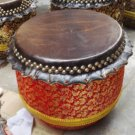 33cm diameter  new Southern Lion Dance drum with a pairs of drumsticks chinese Folk costume