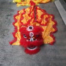 Single CHILDREN kids 5-10 age red Southern Lion Dance  Costume pure wool  Festival christams