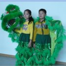 F/S CHILDREN green Southern Lion Dance mascot Costume theater parade Festival christams