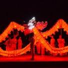 3.1m long 4 kid size led red  CHINESE DRAGON DANC christmas parade decor  Celebration mascot Costume