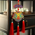 Hot Sale Chinese design art halloween wood festival costume drama stage Wall Decorations Pendant