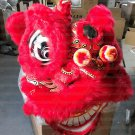Adult red  Southern Lion Dance mascot Costume theater parade Festival christams outdoor game