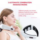 Electric neck massager far infrared heating pain relief tool healthcare relaxation