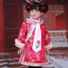 Girls Traditional Chinese Hanfu Cheongsam Kids  Qipao Tang Suit Dress Vintage Children Party Outfits