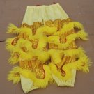 CHILDREN yellow 1pcs pants  Southern Lion Dance mascot Costume theater parade Festival christams
