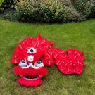 Funny Lion dance For Kid Single  5-10 age red pure wool Costume Party Festival christams