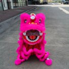 Funny Lion dance For Kid Single  5-10 age pink pure wool Costume Party Festival christams