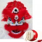 2-5 age Classic Kid Lion Dance Drum  Festival Funny Fancy Costume 10inch Cartoon Props Play Parade