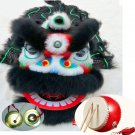 6-9 age Classic Kid Lion Dance Drum gong Festival Funny Fancy Costume 14inch Cartoon Props Play