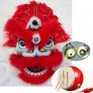 2-5 age Classic Kid Lion Dance Drum gong Festival Funny Fancy Costume 10inch Cartoon Props Play
