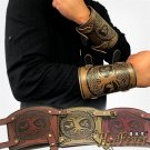 1 Pcs Adult Wrist Cosplay Costume Carnival Party Bandage Steampunk Bracers Pirate Armor Warrior