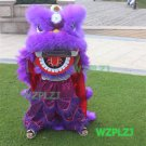 PURPLE 14inch Lion Dance Costume Royal 5-12 Age Children Props Stage Halloween Outdoor Party