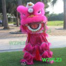 PINK 14inch Lion Dance Costume Royal 5-12 Age Children Props Stage Halloween Carnival Party Festival