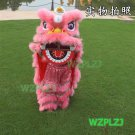 pink 14inch Lion Dance Costume Royal 5-12 Age Children Party Halloween Outdoor Party Festival