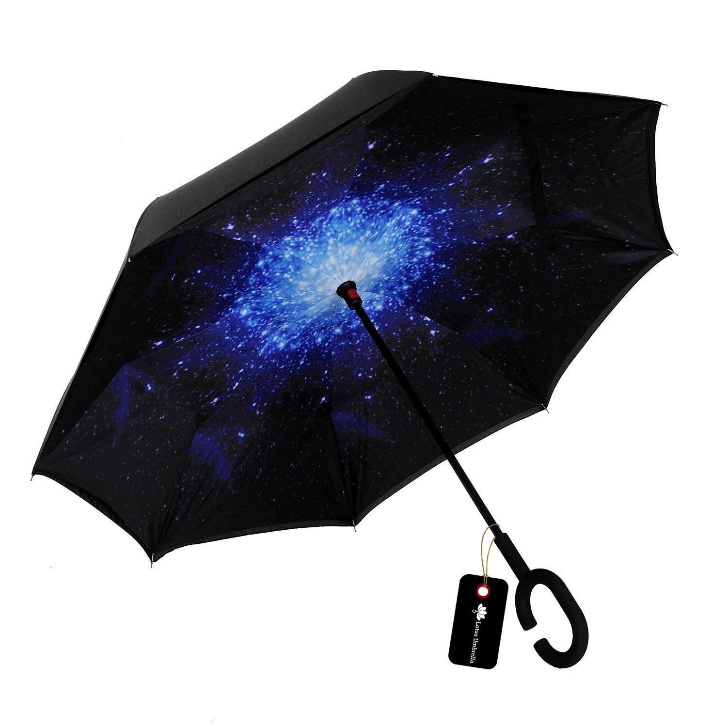 Inverted Umbrella Cars Reverse Folding Double Layer Windproof Inside Out Outdoor Rain Away Car