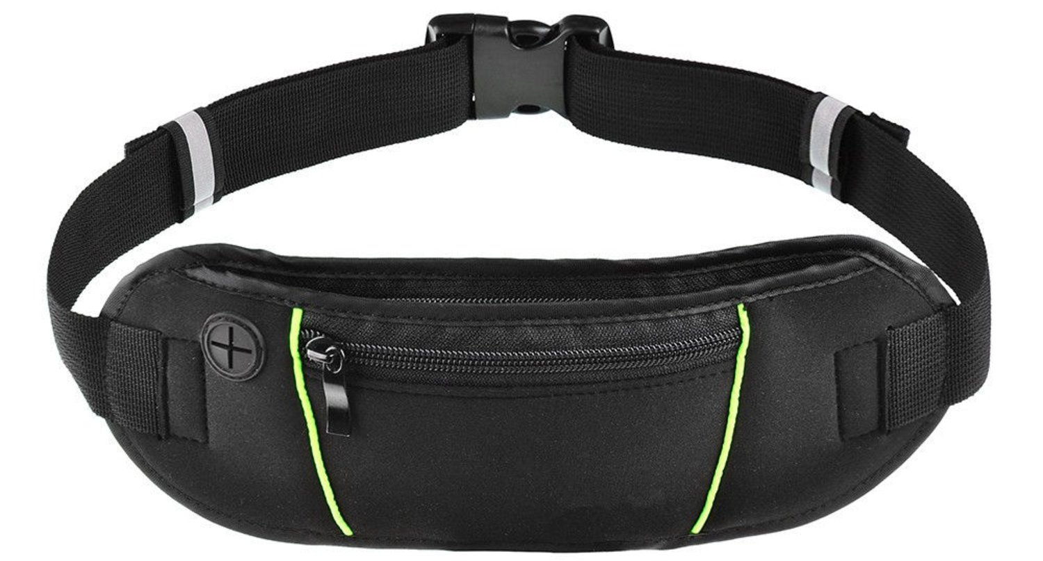 Running Belt Waist Pack - Fanny Pack for Hiking Fitness - Adjustable Running Pouch for Mobile