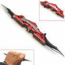 Red Outdoor Batman Two Dual Bladed Folding Tool The Dark Knight
