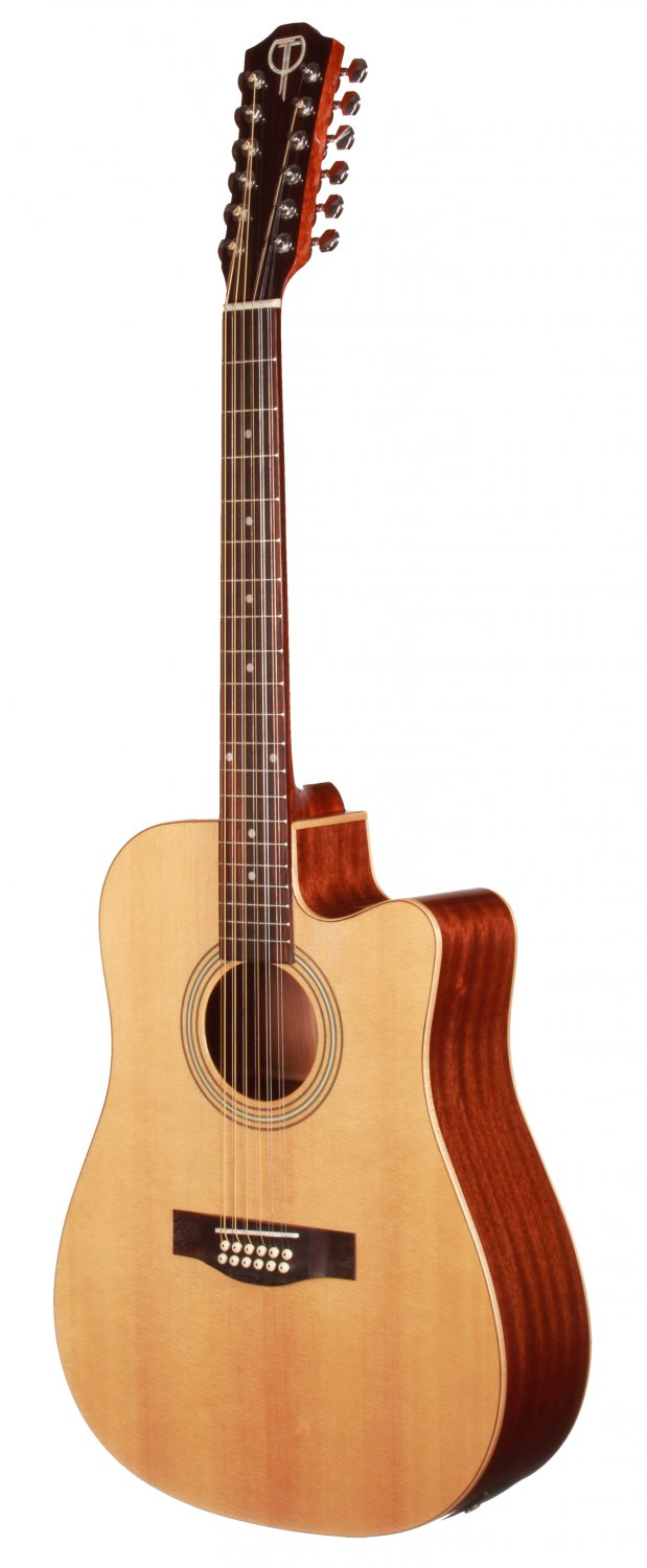 Teton STS100CENT 12 String Acoustic Electric Guitar