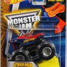 Hot Wheels Monster Jam. Spider-Man with Stunt Ramp #27