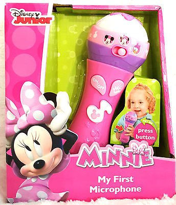Disney Junior Minnie Mouse Clubhouse My First Microphone