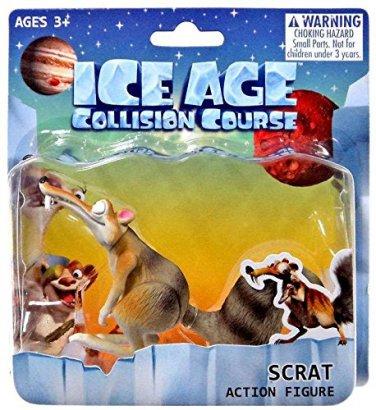 "Ice Age Collision Course Scrat 3"" Action Figure"