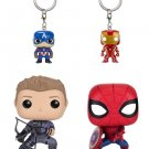 Funko POP Marvel: Civil War Hawkeye, Spiderman, Iron Man & Captain America