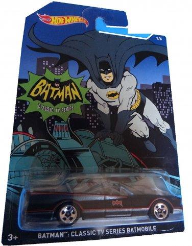 Hot Wheels Batman Classic TV Series Batmobile. 1:64 Scale diecast