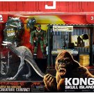 Kong Skull Island Battle for Survival Creature Contact Skullcrawler and Figure
