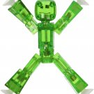 Stikbot, Translucent Green Stikbot Figure, 3 Inches