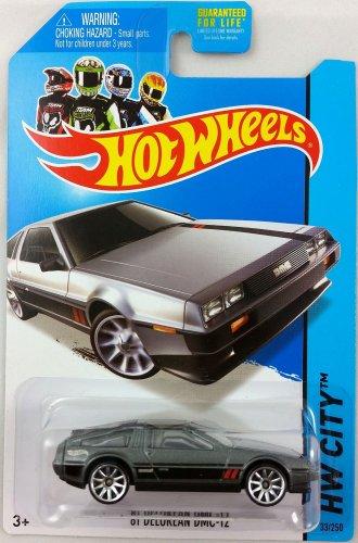 2014 Hot Wheels HW City Speed Team '81 Delorean DMC-12 33/250