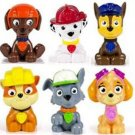 Paw Patrol 6 piece Mini Figures Set