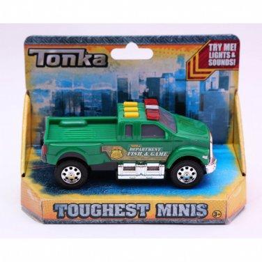 Tonka Toughest Minis. Department Fish & Game Pick up Truck